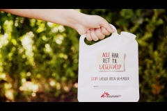 Læger uden Grænser Donationbag